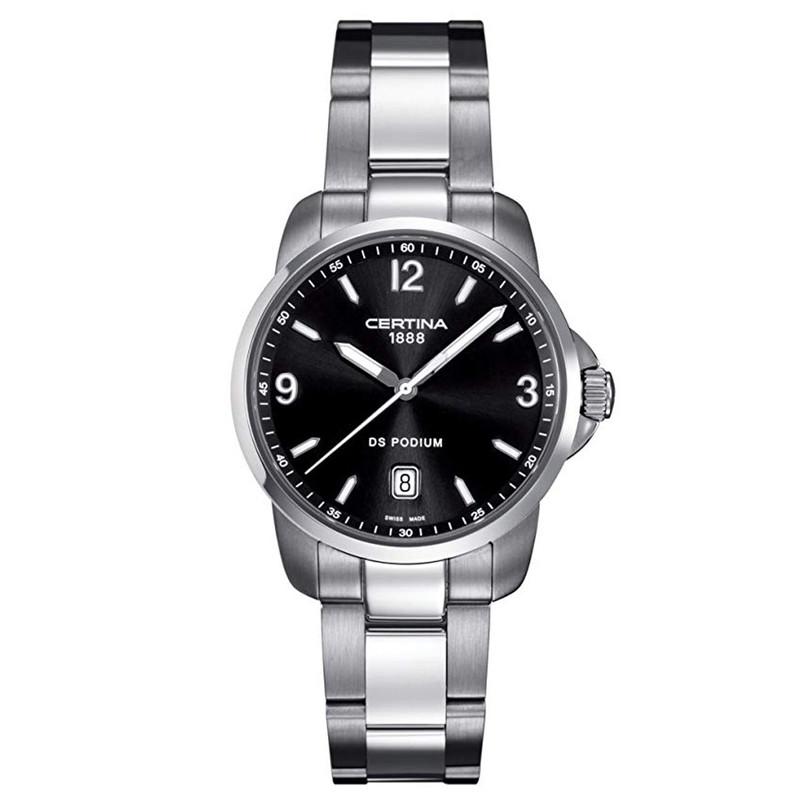 ساعت مچی عقربه ای مردانه سرتینا مدل C0014101105700