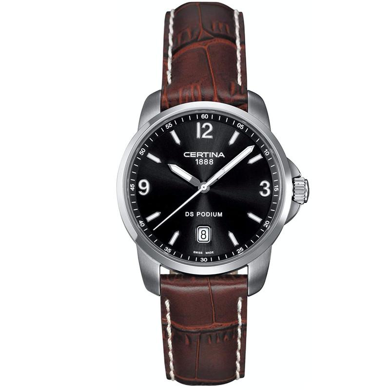 ساعت مچی عقربه ای مردانه سرتینا مدل C0014101605700