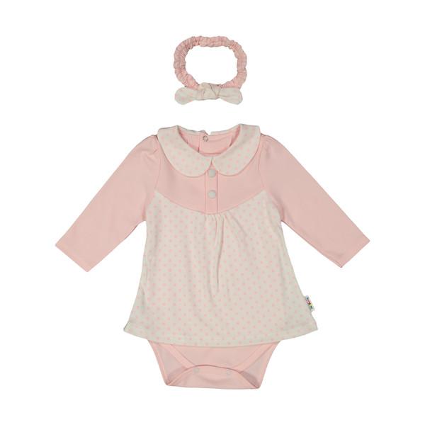 سرهمی نوزادی دخترانه بی بی ناز مدل 1501478-0184