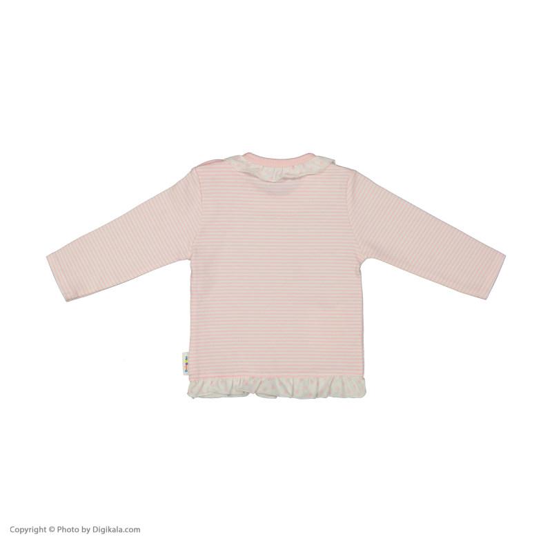 بلوز نوزادی دخترانه بی بی ناز مدل 1501472-84