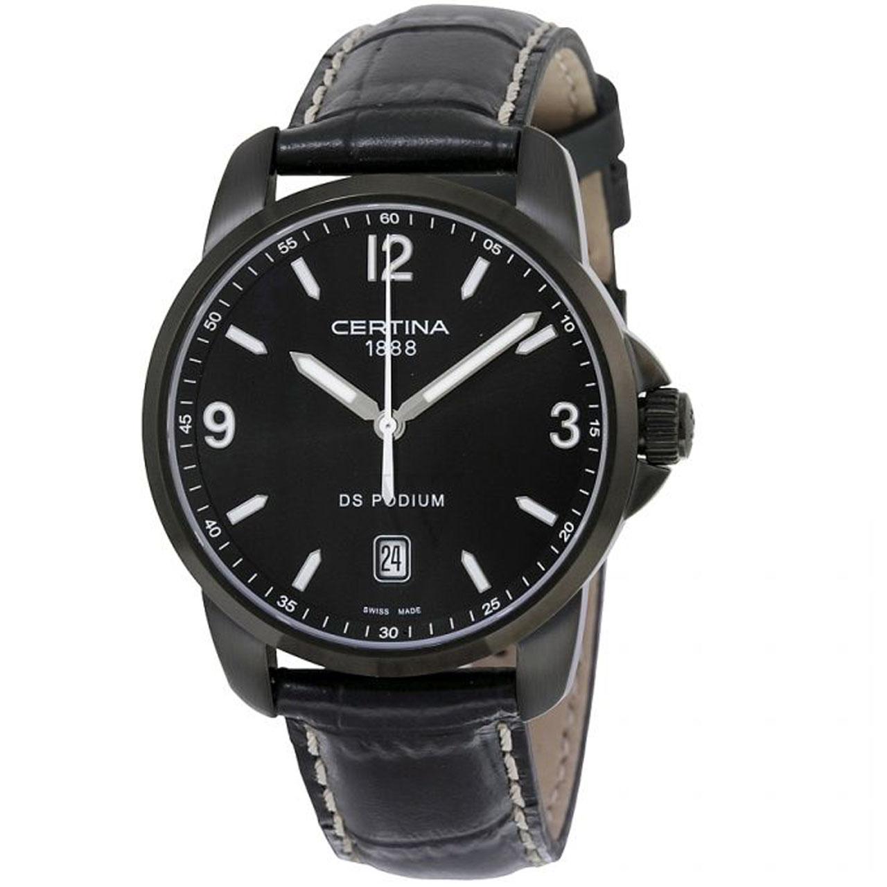 ساعت مچی عقربه ای مردانه سرتینا مدل C0014101605702