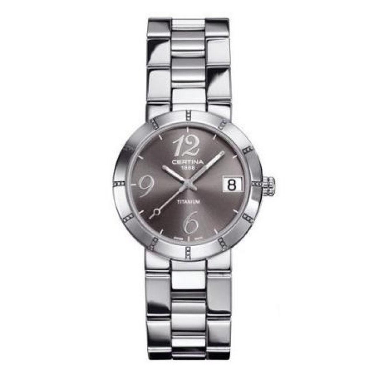 ساعت مچی عقربه ای زنانه سرتینا مدل C0092104408200              ارزان