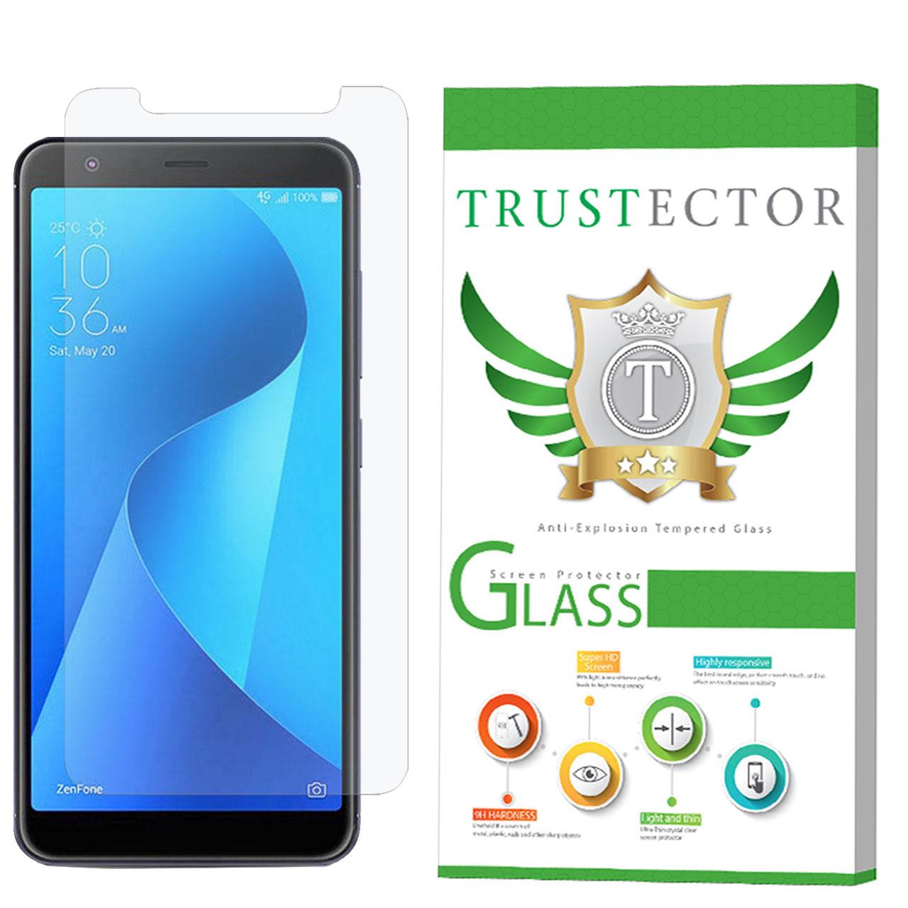 محافظ صفحه نمایش تراستکتور مدل GLS مناسب برای گوشی موبایل ایسوس Zenfone Max Plus M1 ZB570TL              ( قیمت و خرید)