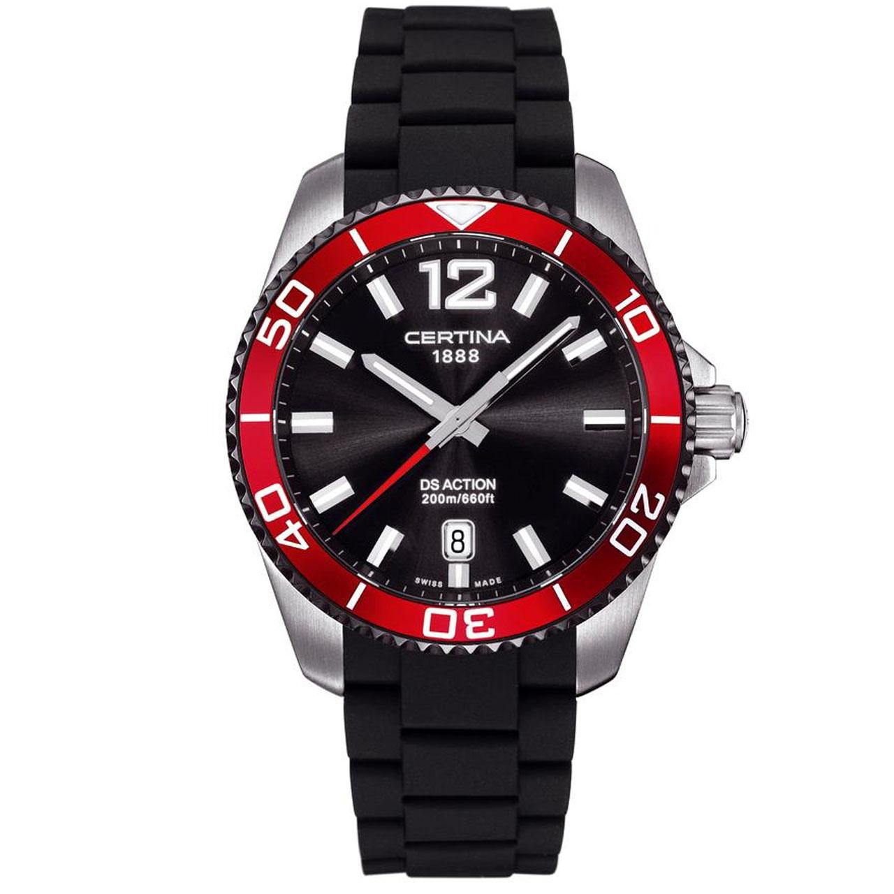 ساعت مچی عقربه ای مردانه سرتینا مدل C0134102705700