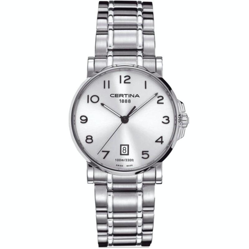 ساعت مچی عقربه ای مردانه سرتینا مدل C0174101103200