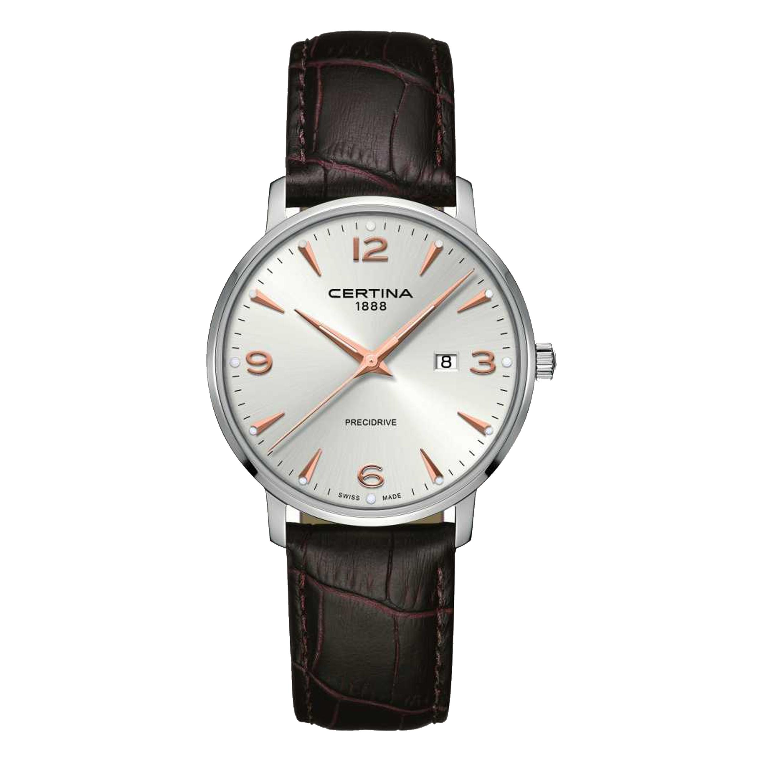 ساعت مچی عقربه ای مردانه سرتینا مدل C0354101603701