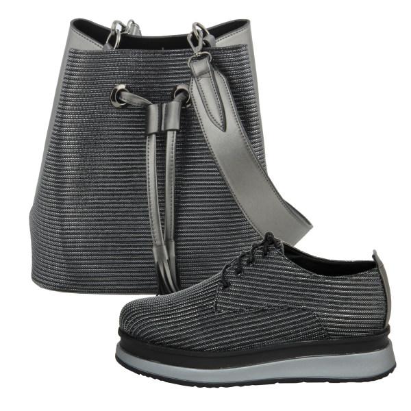 ست کیف و کفش زنانه مدل هدیه کد st216