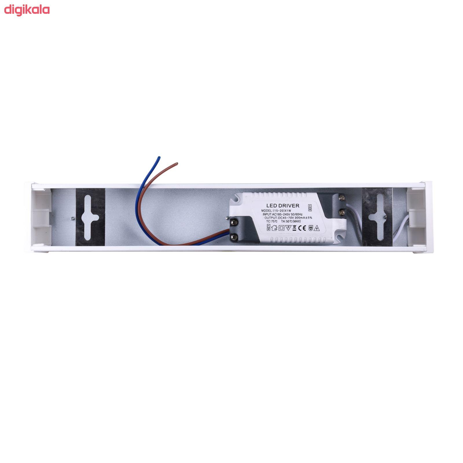 چراغ ال ای دی 22 وات پارس شعاع توس مدل PST-KAREN 22 main 1 1
