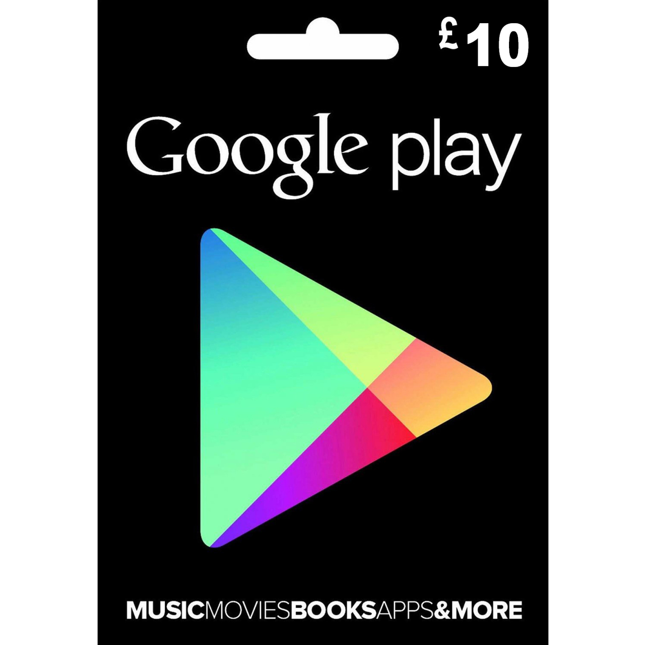 خرید اینترنتی گیفت کارت گوگل پلی ۱۰ پوندی مدل GOG10P اورجینال