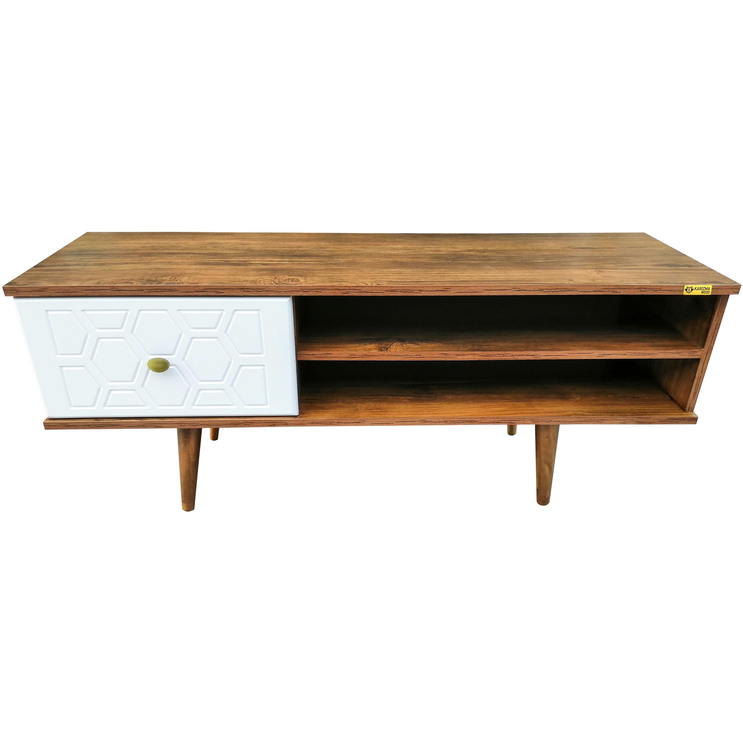 خرید اینترنتی میز تلویزیون کاریزما وود مدل A.Kn.W.205 اورجینال