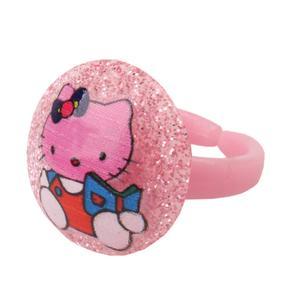 انگشتر دخترانه طرح کیتی کد 0033