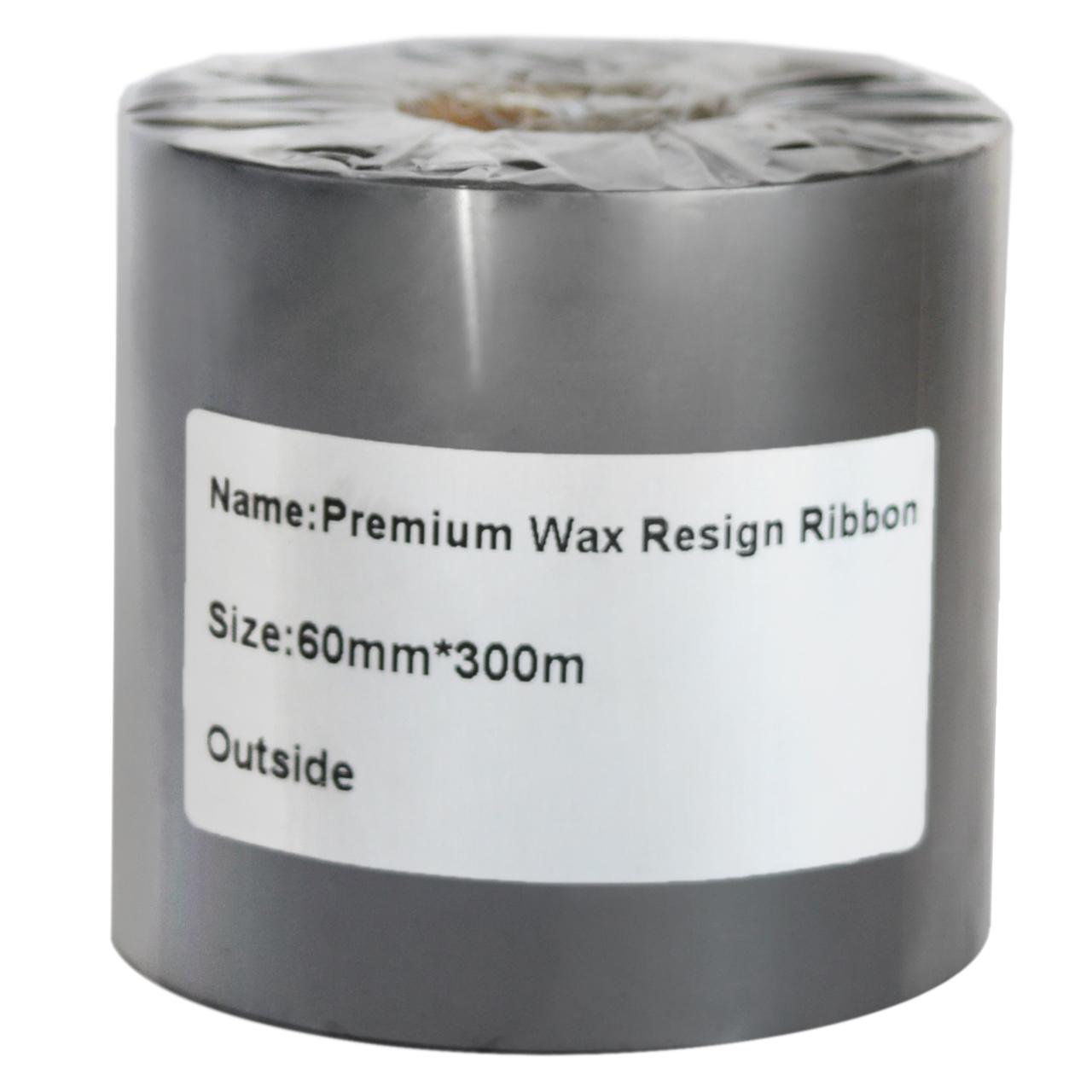 قیمت                      ریبون پرینتر لیبل زن مدل WAX/RESIN 60mm x 300m