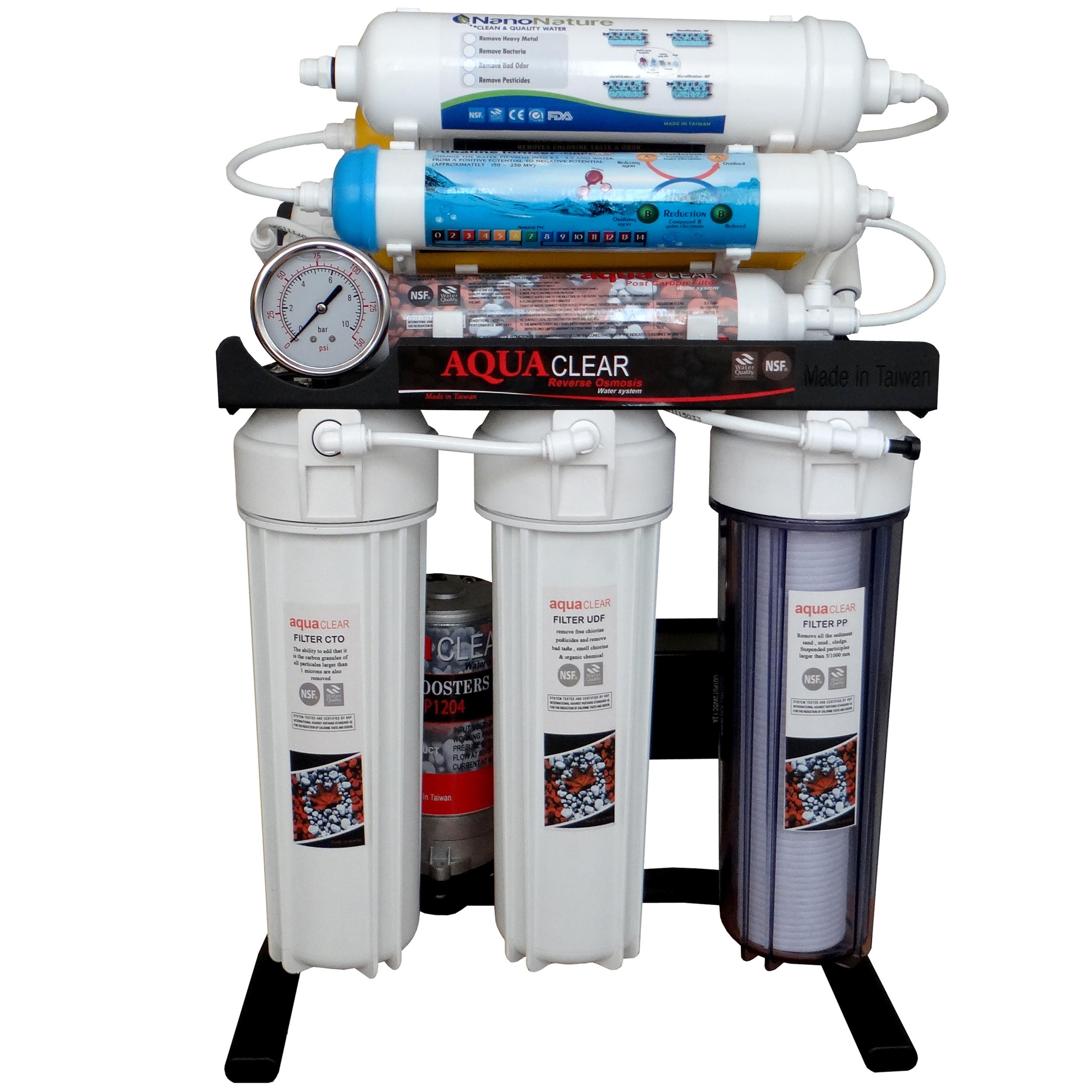 دستگاه تصفیه کننده آب آکوآکلیر مدل BLACK RADIX - 2400