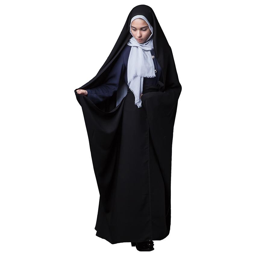 چادر قجری حجاب فاطمی مدل حسنا کد kri 1071