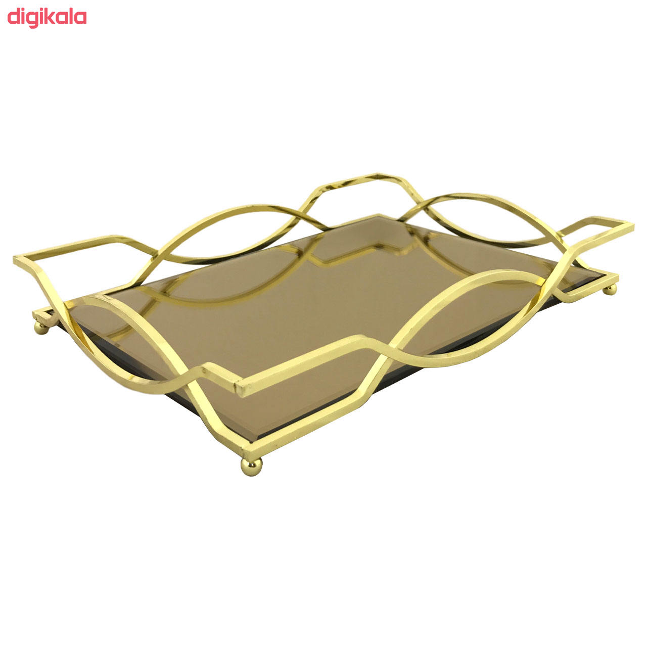 سینی مدل آینه ای کد 080070040 main 1 3