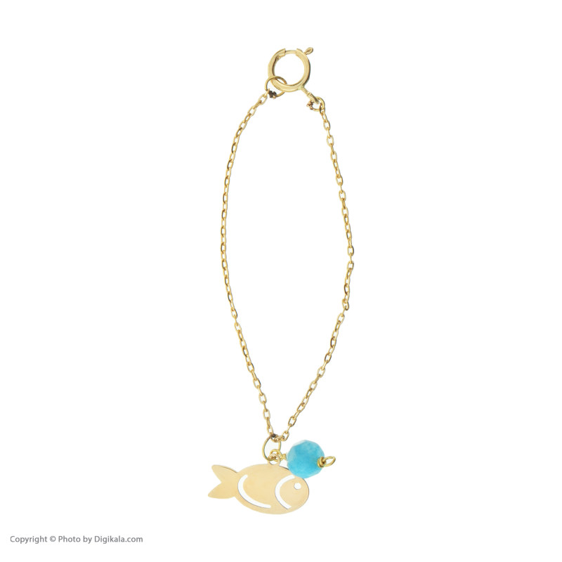 آویز ساعت طلا 18 عیار زنانه نیوانی مدل WP005