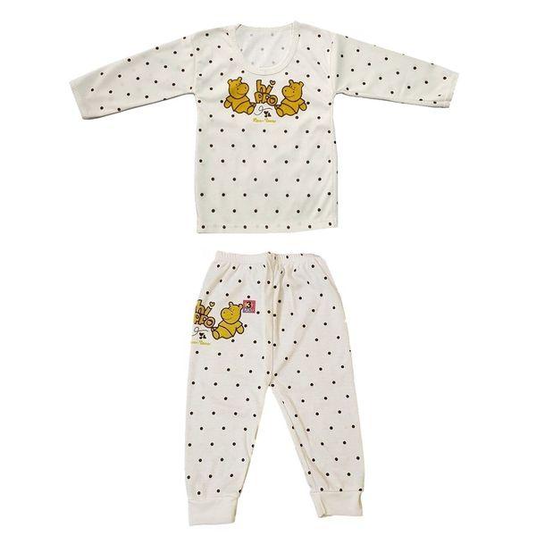 ست تی شرت آستین بلند و شلوار نوزادی کد 999
