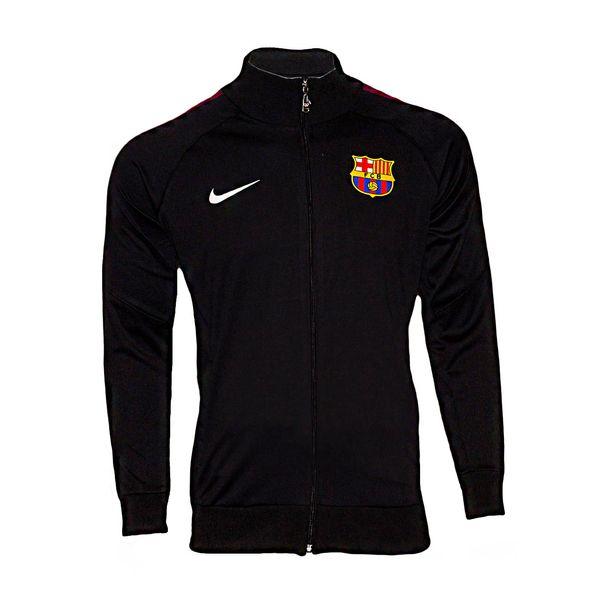 سویشرت ورزشی پسرانه طرح بارسلونا کد 03