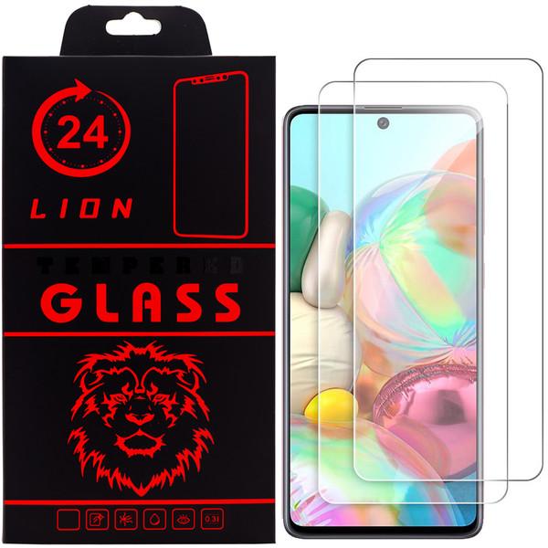 محافظ صفحه نمایش لاین مدل  RB007 مناسب برای گوشی موبایل سامسونگ Galaxy A71 بسته دو عددی