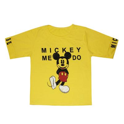 تی شرت زنانه مدل Micky Do کد 1236-004