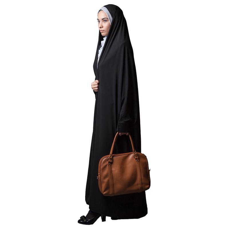 چادر دانشجویی حجاب فاطمی مدل جلوه  کد Har 1091