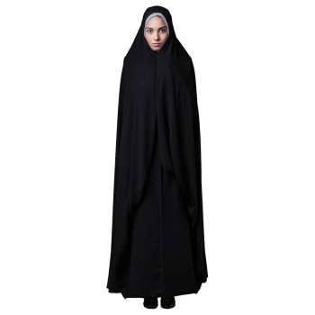 چادر قجری حجاب فاطمی مدل حسنا کد kan 1073