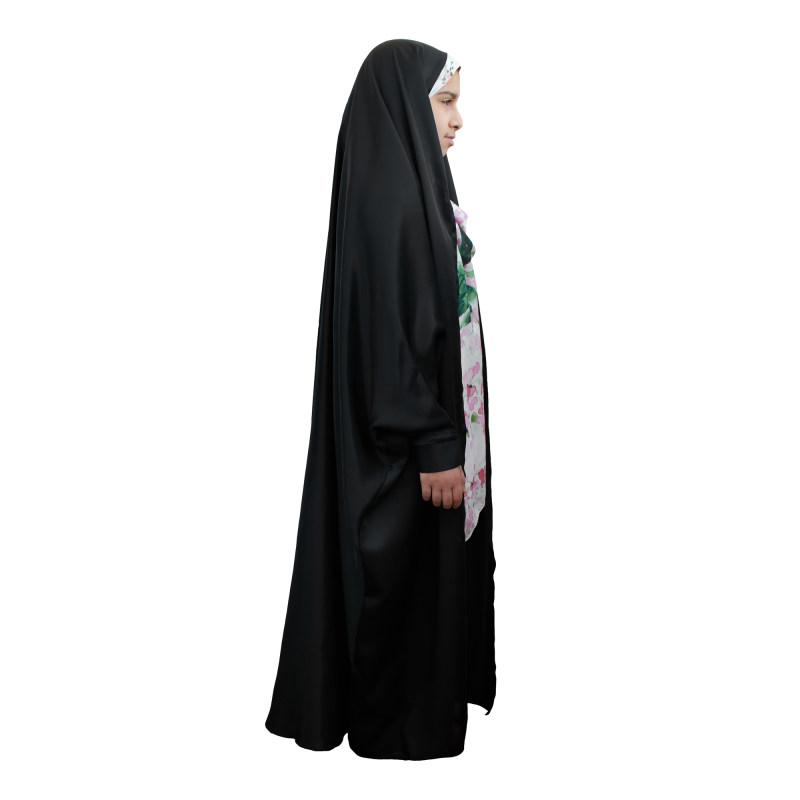 چادر دانشجویی دخترانه حجاب فاطمی کد sat09
