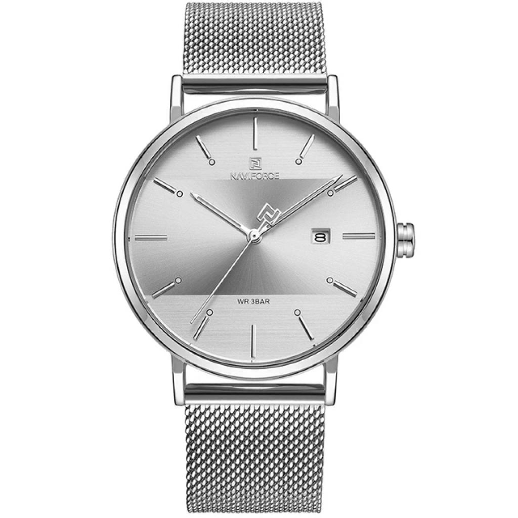 ساعت مچی عقربه ای زنانه نیوی فورس کد NF3008L -S-W              خرید (⭐️⭐️⭐️)