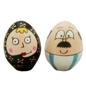 تخم مرغ تزیینی طرح زلفعلی و گل پری مدل 1987 مجموعه 2 عددی