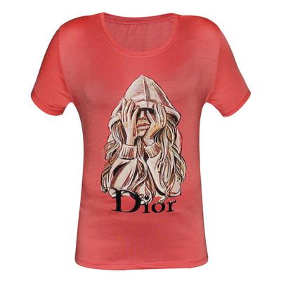 تصویر تی شرت زنانه مدل Ariana کد 1076-003