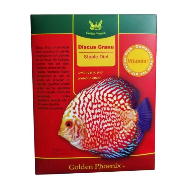 غذای ماهی گلدن فونیکس مدل دیسکس وزن 20 گرم