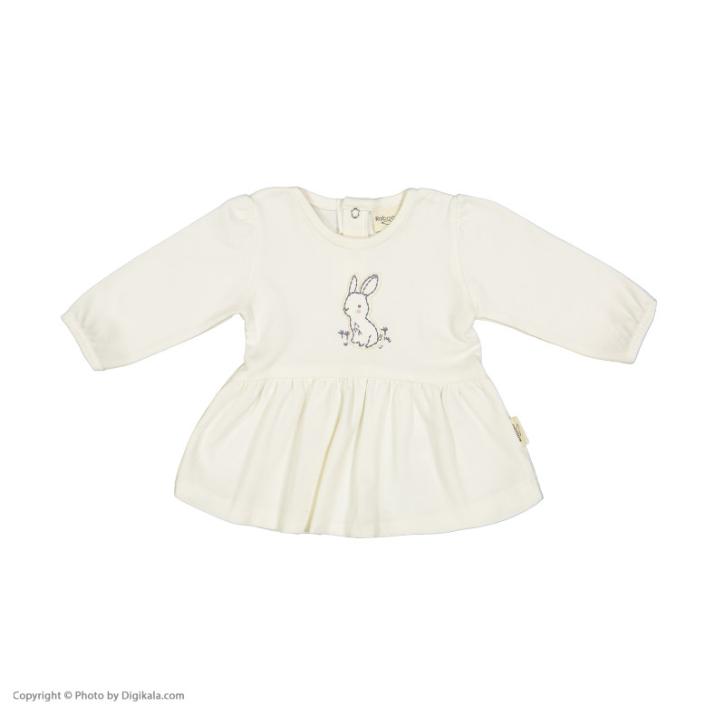 ست بلوز و شلوار نوزادی دخترانه رابو مدل 2051113-0184