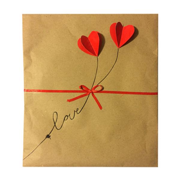 قیمت خرید پاکت هدیه مدل Love کد A101 اورجینال