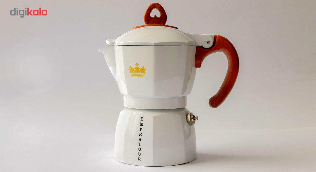 اسپرسوساز امپراتور مدل AQ 2 Cups