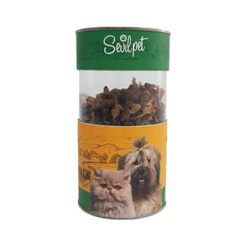 غذای تشویقی سگ و گربه سویل پت مدل Chicken Gizzard Snack وزن 80گرم