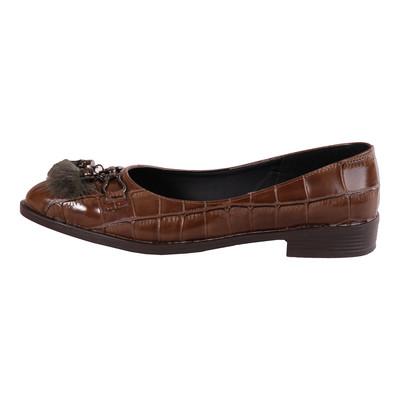 تصویر کفش زنانه مدل Y107-1 رنگ قهوه ای