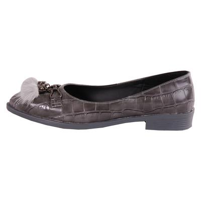 تصویر کفش زنانه مدل Y107-2 رنگ طوسی
