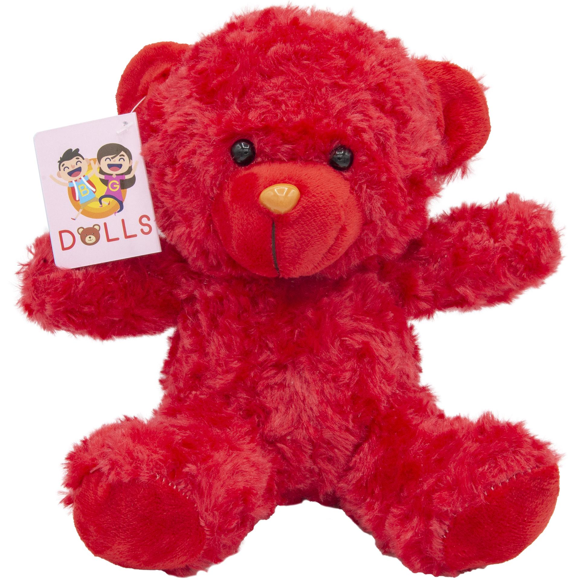عروسک بی جی دالز طرح خرس فری ارتفاع 20 سانتی متر