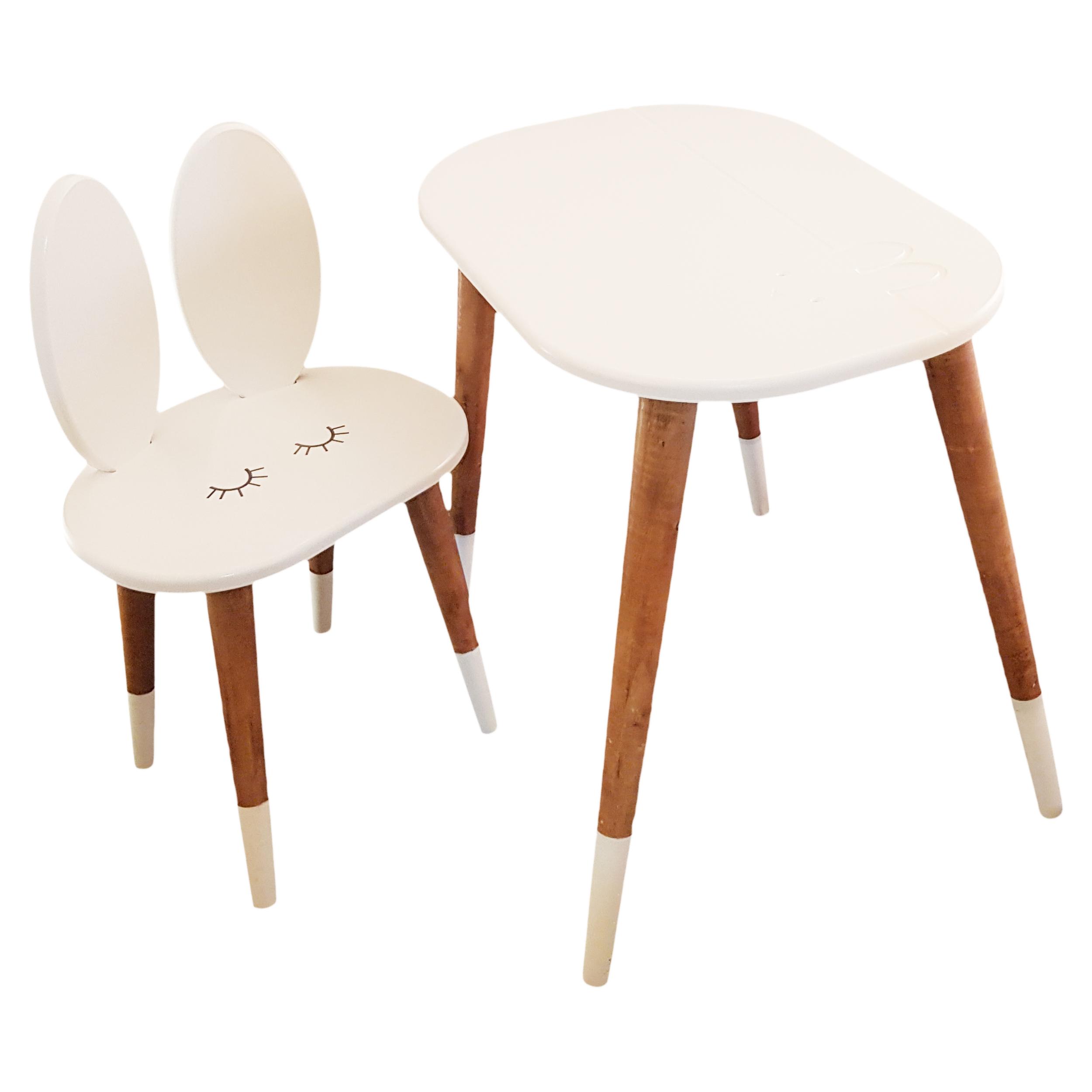 ست میز و صندلی کودک مدل Ra