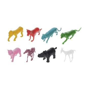 فیگور زیبا تویز زو طرح حیوانات کد 01 مجموعه 8 عددی