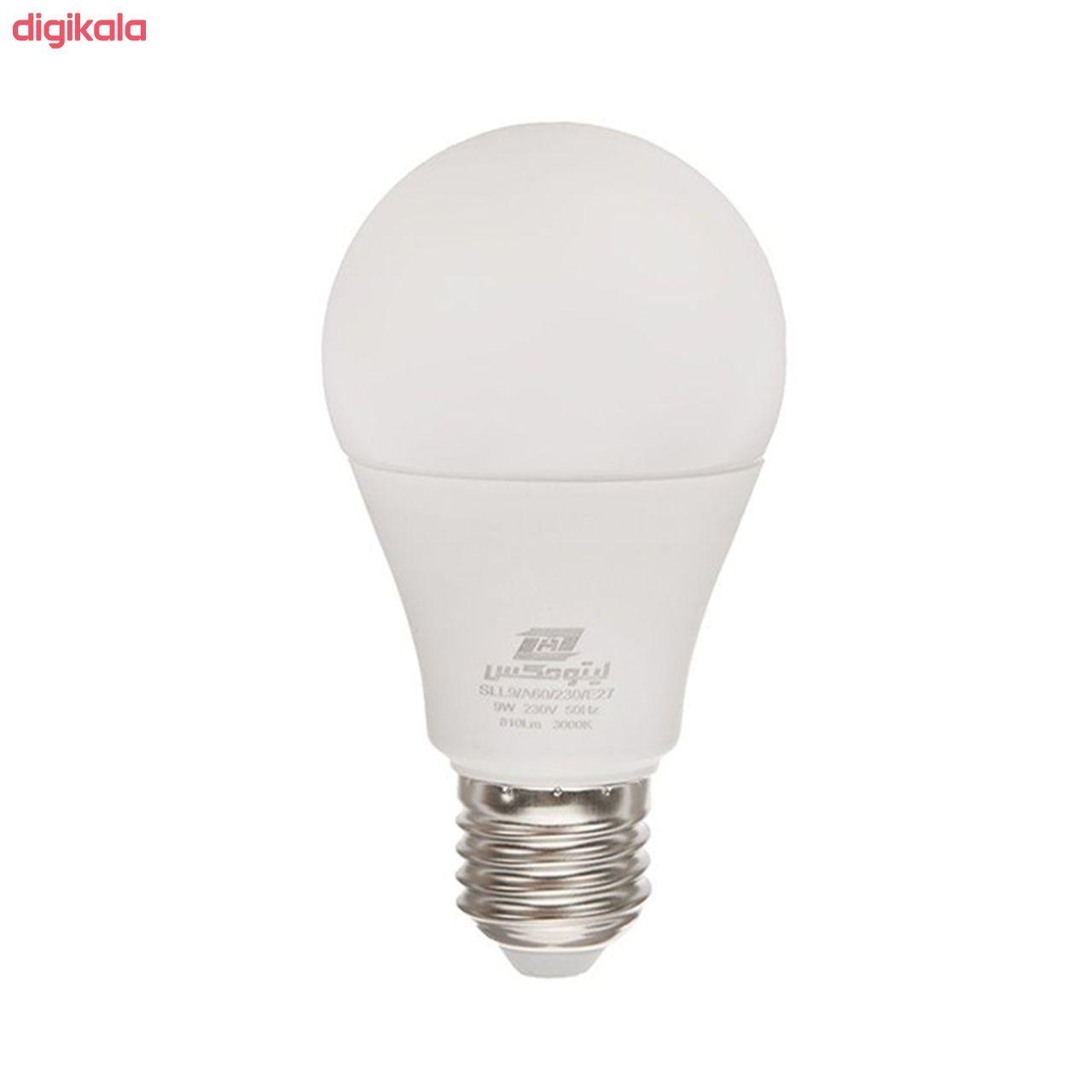 لامپ ال ای دی 9 وات لیتومکس مدل 001 پایه E27 بسته 3 عددی main 1 1