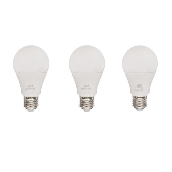 لامپ ال ای دی 9 وات لیتومکس مدل 001 پایه E27 بسته 3 عددی
