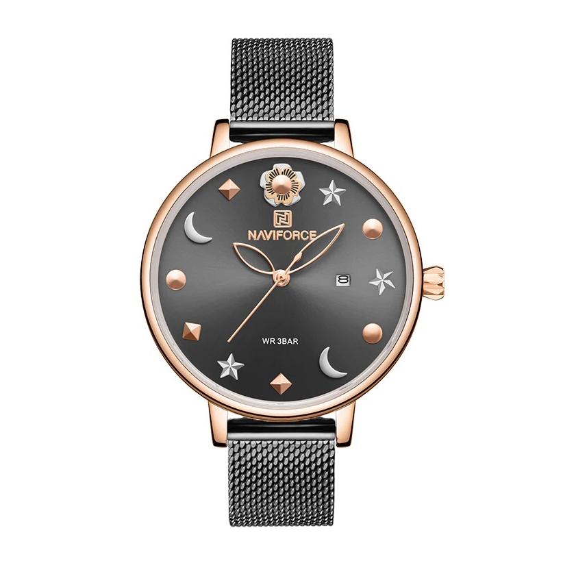 ساعت مچی عقربه ای زنانه نیوی فورس مدل NF5009L -RG-B              خرید (⭐️⭐️⭐️)