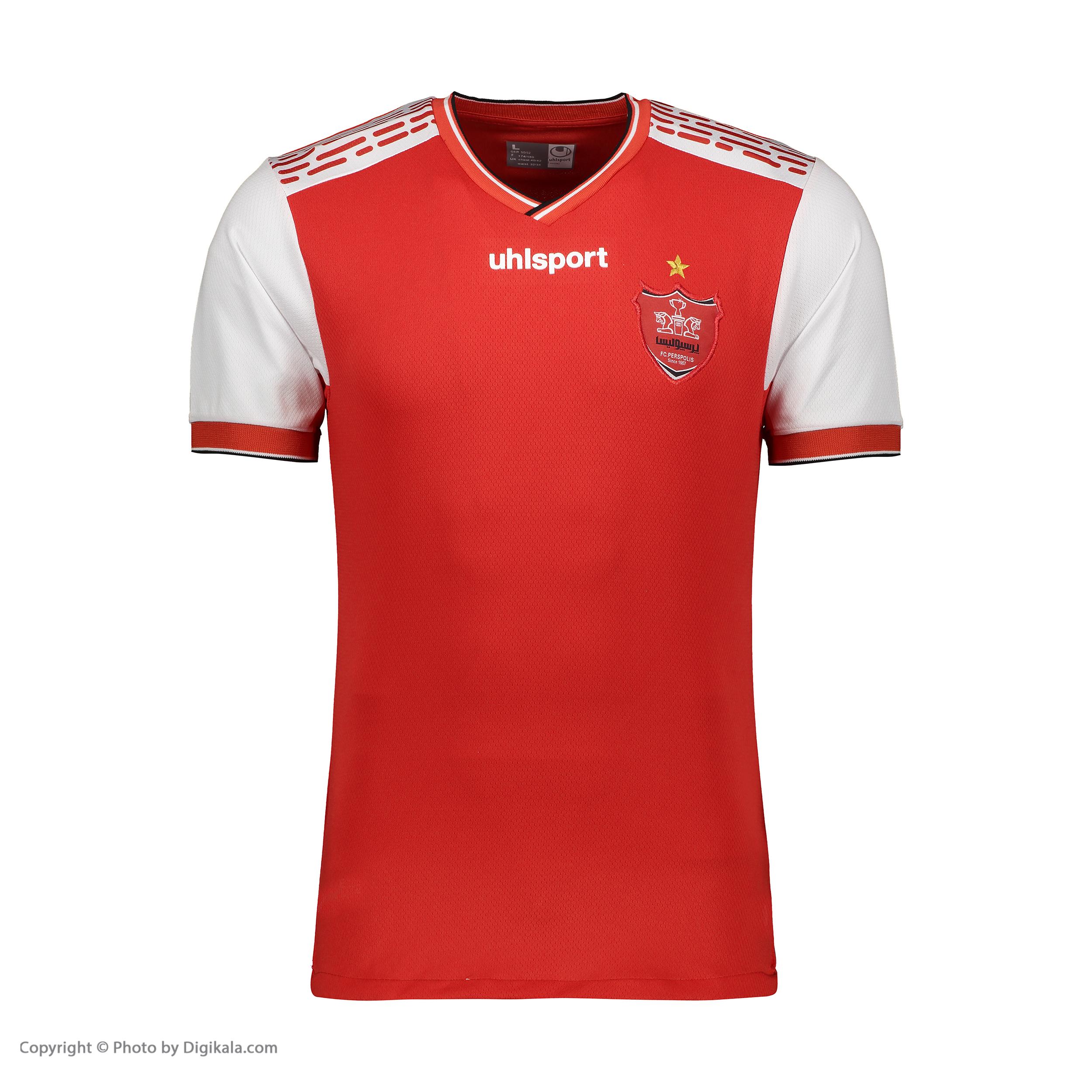 تی شرت ورزشی تیم پرسپولیس آلشپرت مدل FS-7109-AFC