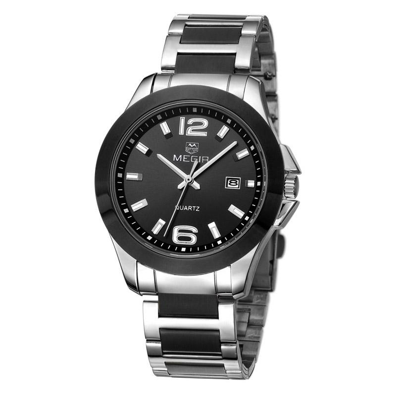 کد تخفیف                                      ساعت مچی عقربه ای مردانه مگیر مدل MS5006GBK-1