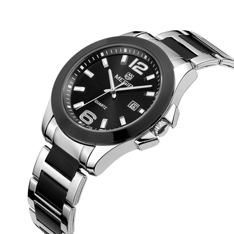 ساعت مچی عقربه ای مردانه مگیر مدل MS5006GBK-1