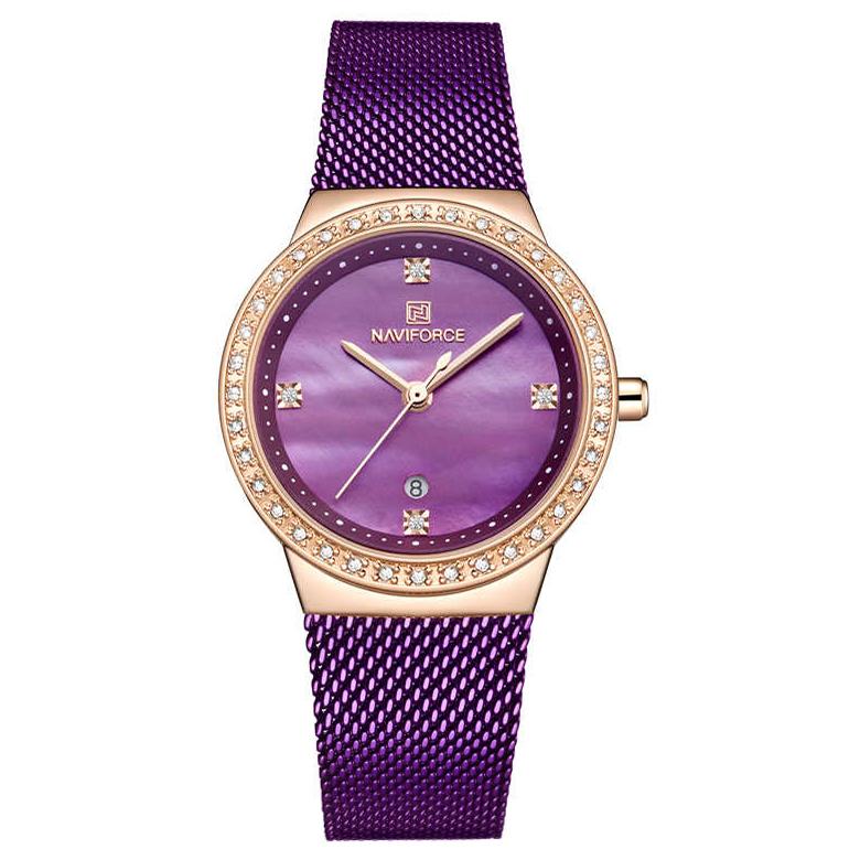 ساعت مچی عقربه ای زنانه نیوی فورس مدل NF5005L -RG-PE              خرید (⭐️⭐️⭐️)