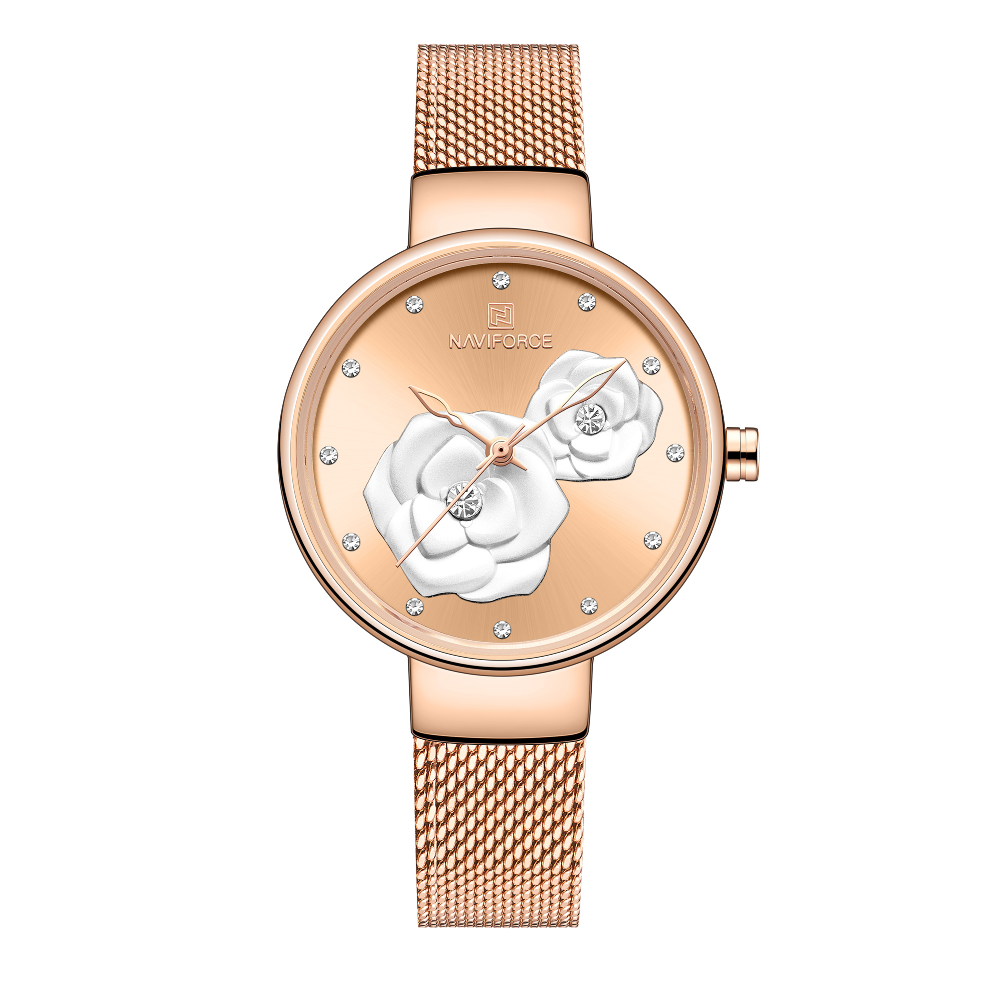ساعت مچی عقربه ای زنانه نیوی فورس کد NF5013L- RG-RG-RG              خرید (⭐️⭐️⭐️)
