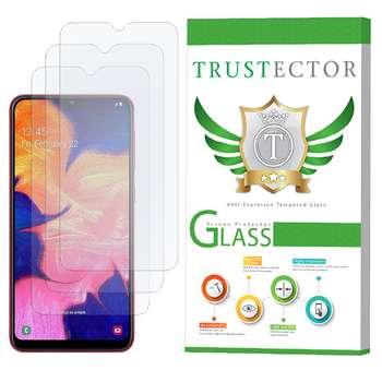 محافظ صفحه نمایش تراستکتور مدل GLS مناسب برای گوشی موبایل سامسونگ Galaxy A10 بسته 3 عددی