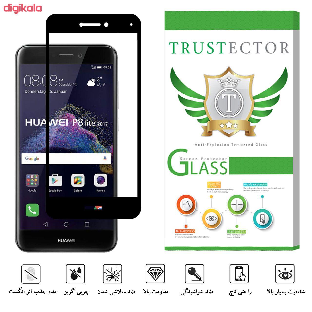 محافظ صفحه نمایش تراستکتور مدل GSS مناسب برای گوشی موبایل هوآوی P8 Lite 2017 / آنر 8Lite main 1 3